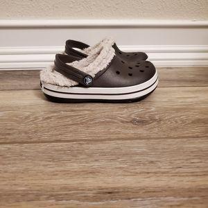 Boys Crocs Sz 8-9